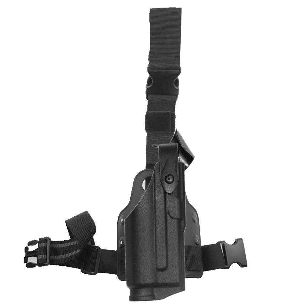 Jagd Military Drop Bein Holster Licht Lager M6 TLR-2 Rechts Oberschenkel Holster für Glock 17 18 19 22 23 26