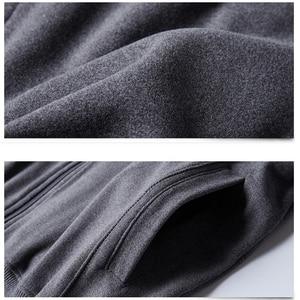 Image 4 - 2020 Men Big Tall Long Sleeves Sweatshirts Oversized Hoodies Cotton Male Large Man Clothing Autumn Fit Hoodie Plus Size 5XL 6XL