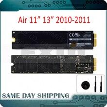 """Оригинальный 2011 2010 для Apple Macbook Air 11 """"13"""" A1370 A1369 SSD 64 ГБ 128 ГБ 256 ГБ твердотельный накопитель 6 + 12 контактов"""