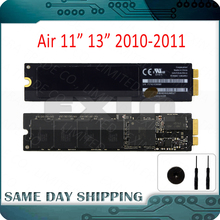 "Genuine 2011 2010 for Apple Macbook Air 11"" 13"" A1370 A1369 SSD 64GB 128GB 256GB Solid State Drive 6+12 Pins"