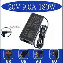 D'origine 180W 20V 9A ADP-180TB H Chargeur Adaptateur secteur Pour ASUS ROG 14 GA401I G14 GA5021 GA502D Tuf Gaming A17 Alimentation Pour Ordinateur Portable