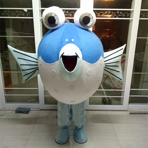 Puffer Fish Mascot Costume mascotte Cosplay Dress Outfits Clothing Advertising Carnival Halloween Xmas Easter Festival