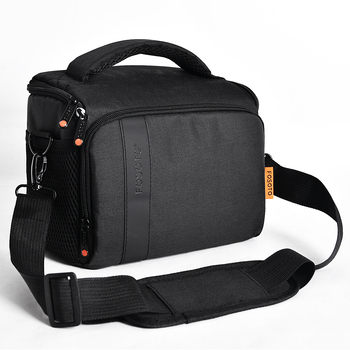 FOSOTO Digital DSLR Camera Bag Waterproof Shoulder Bag Video Camera Case For Canon Nikon Sony Lens Pouch photography Photo Bag camera hard case bag for canon powershot g9x mark ii 2 sx720 sx620 sx610 hs sx600 is s120 s100 s90 digital camera case cover