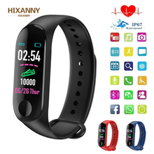 Smart Watch M3Plus Waterproof Smart Sports Bracelet Phone Bluetooth Heart Rate Monitor Fitness Smart Wristband For Android IOS fabulous new watch heart rate monitor fitness bluetooth smart wrist watch phone mate for ios and android phone intelligent watch