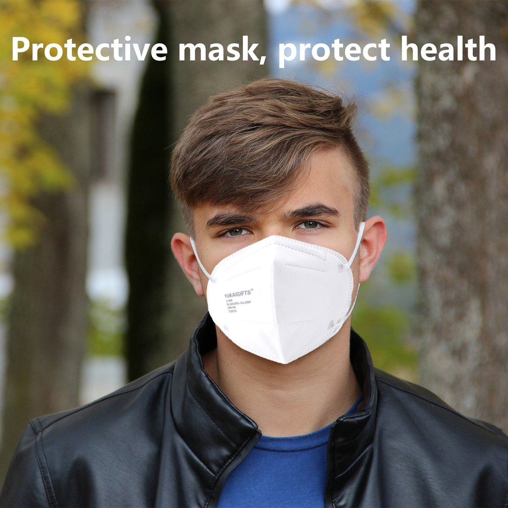 20/40pcs CE FFP3 Mask Disposable Face Mask 4 Layers