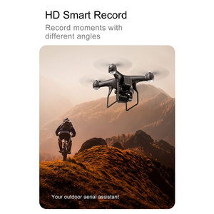 Image 5 - Drone 4K 1080P WiFi FPV Professional Dron selfie quadrocopter with camera Flight 22 Mins air drones tracker RC helicopter