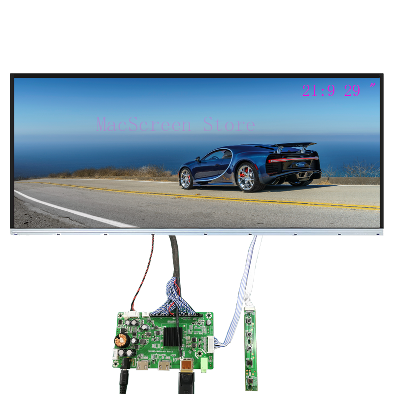 LM290WW1 LM290WW2 LM290WW3 LED Display Screen Borderless With DP HDMI LVDS Controlelr Board For Diy Desktop Monitor 21:9