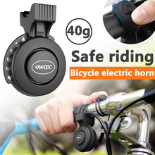 Bell Alarm-Ring Bicycle-Handlebar-Sound Cycling Electric-Scooter Mountain-Road-Bike Rechargeable