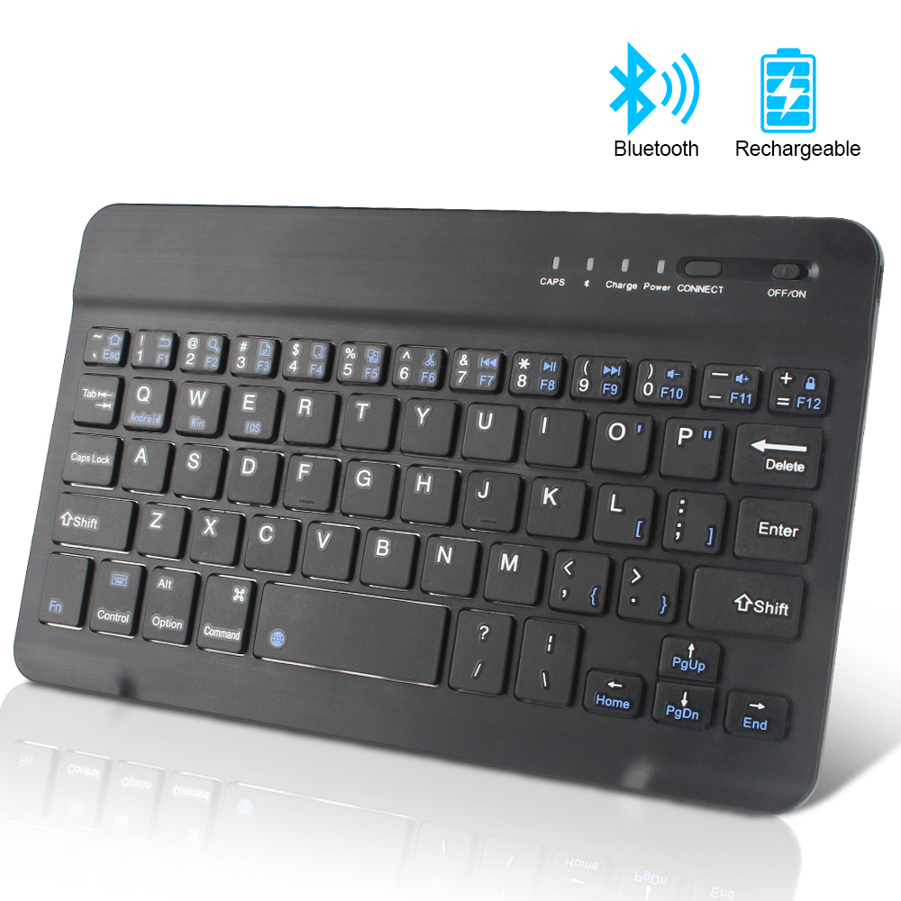 Wireless Keyboard Mini Bluetooth Keyboard For IPad Apple Mac Tablet Keyboard For Phone Universal Support IOS Android Windows