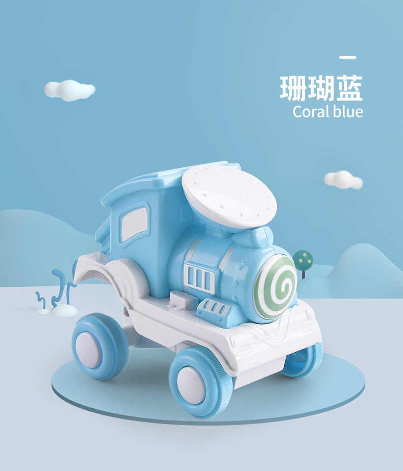 Venda quente rollercoaster inércia carro brinquedo imprensa trem dublê suprimir modelo de carro brinquedos das crianças