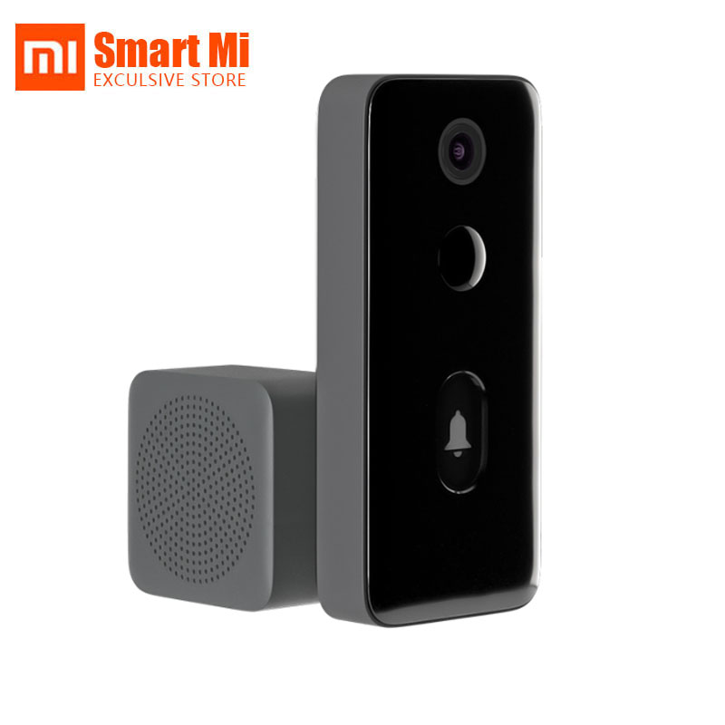Original Xiaomi Mi Mijia Smart Video Door Bell 2 Camera 1080p Video Doorbell Body Monitor AI Humanoid Recognition