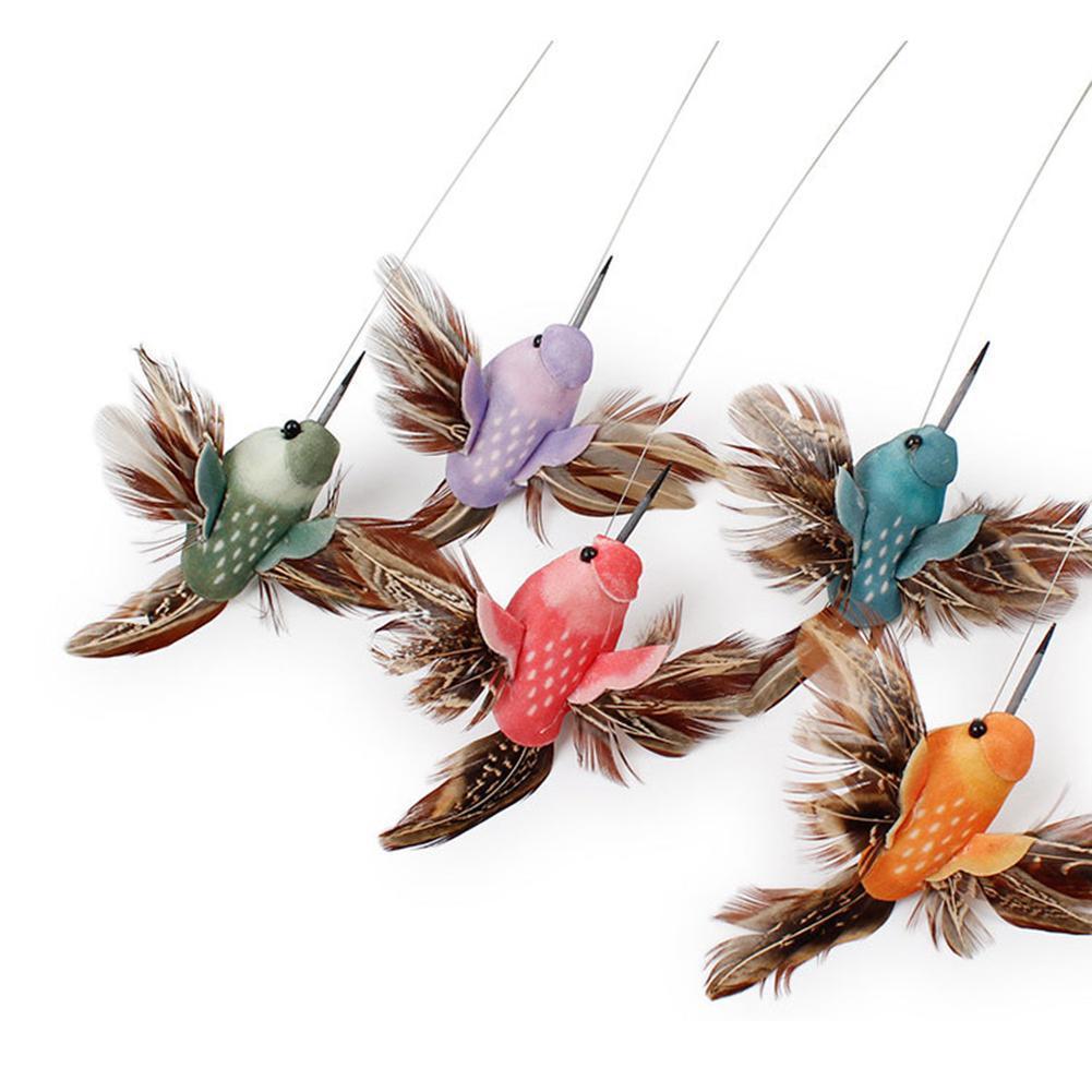 1 Pc Kreative Designer Katze Interaktive Haustier Spielzeug Elektrische Fliegende Vogel Schmetterling Hummingbird Katze Blumen Interaktive Spielzeug Aro Y1M8