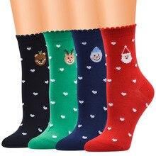 2019 Winter Girl Boy Socks Cartoon Animal Cute Deer Sock For Girls Unisex Thick Warm Cotton Ladies Christmas Gifts