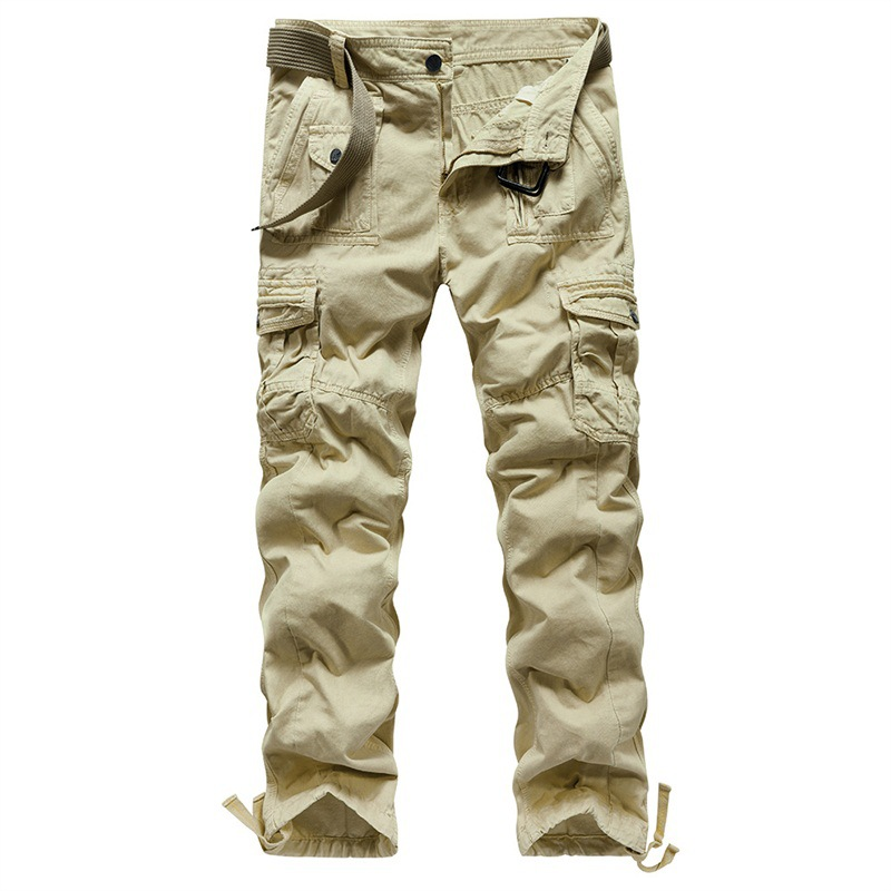 Men's Casual Military Camouflage Cargo Pants Plus Size 40 Urban Streetwear Hip Hop Tactical Pants for Men Oversized Cargo Pants