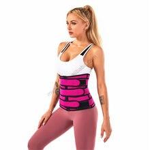Розовый неопрен выработать корсаж для тренировки талии поставщика талии довод для похудения Форма одежда скульптор тела для похудения Фор...