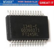 2 pçs/lote FT245BL FT245BM FT245RL FT245RM FT245 QFP-32 SSOP-28