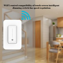 Wifi Remote Touch Intelligent Dimming Switch Fan Speed Control Compatible With Professional Fashion Portable