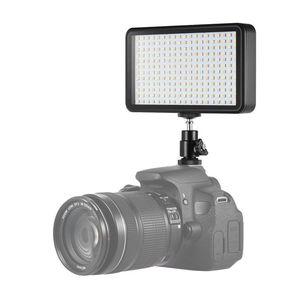 Image 4 - Sıcak 3C Ultra thin 3200 K/6000 K kısılabilir stüdyo Video fotoğrafçılığı led ışık panel lambası 228 adet boncuk Canon Nikon DSLR için kamera DV