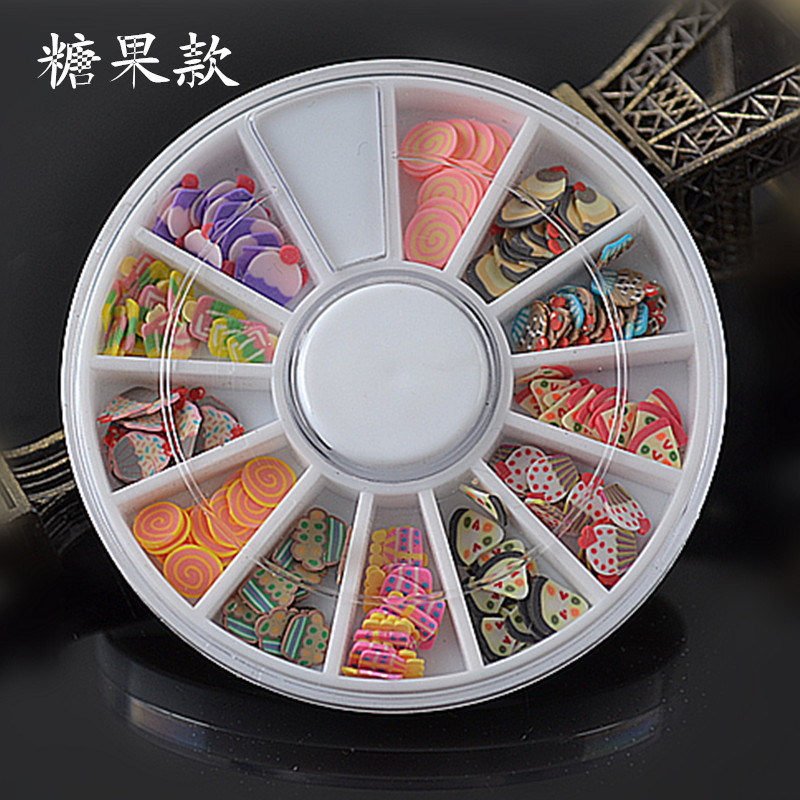 Hot Sales Nail Ornament Ruan Tao Tiao Ruan Tao Pian DIY Mobile Phone Flower Stickers 9-DIY Decorative Paster