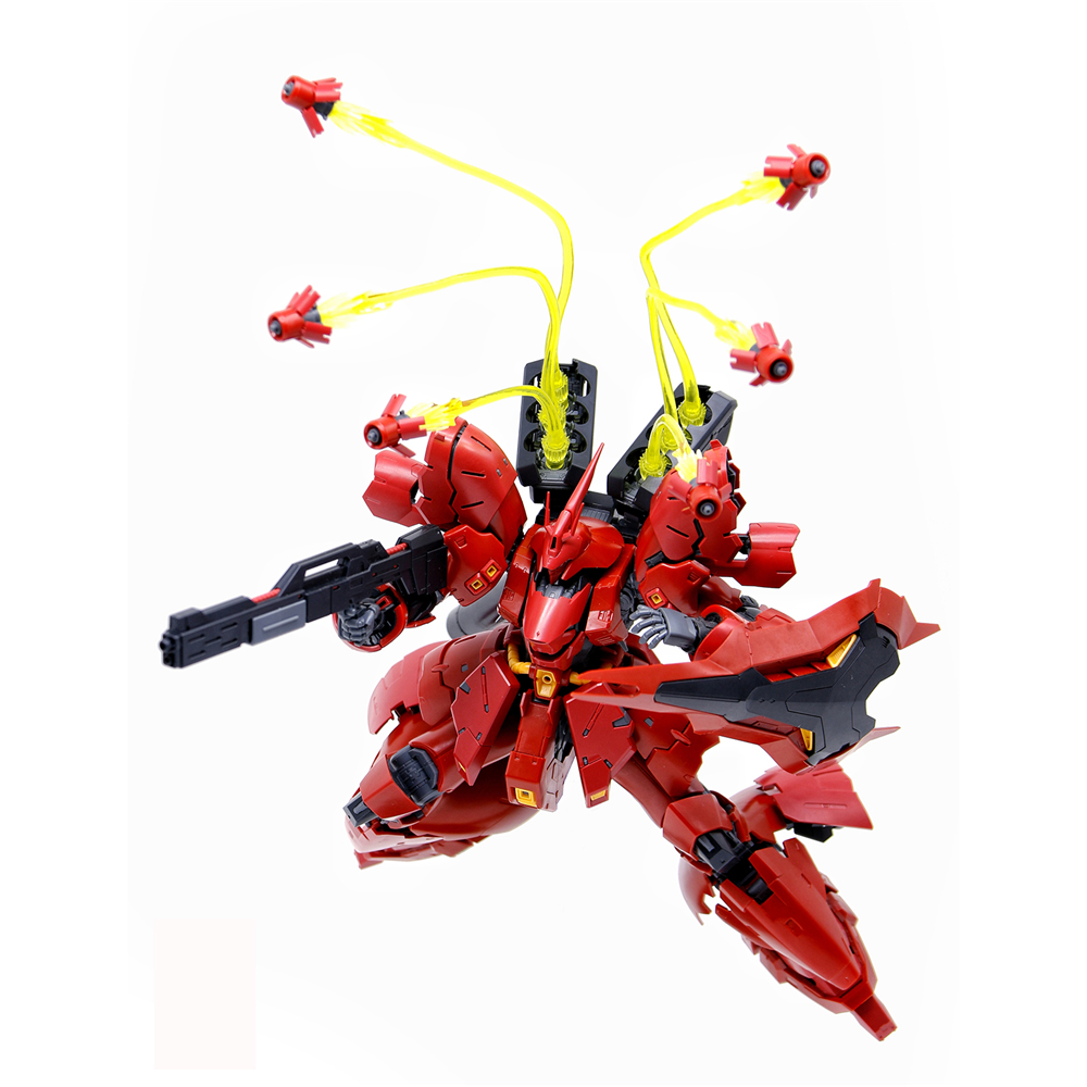 EffectsWings EW Clear Yellow Funnel Effect Parts For RG HGUC 1/144 Sazabi Gundam Model Accessories