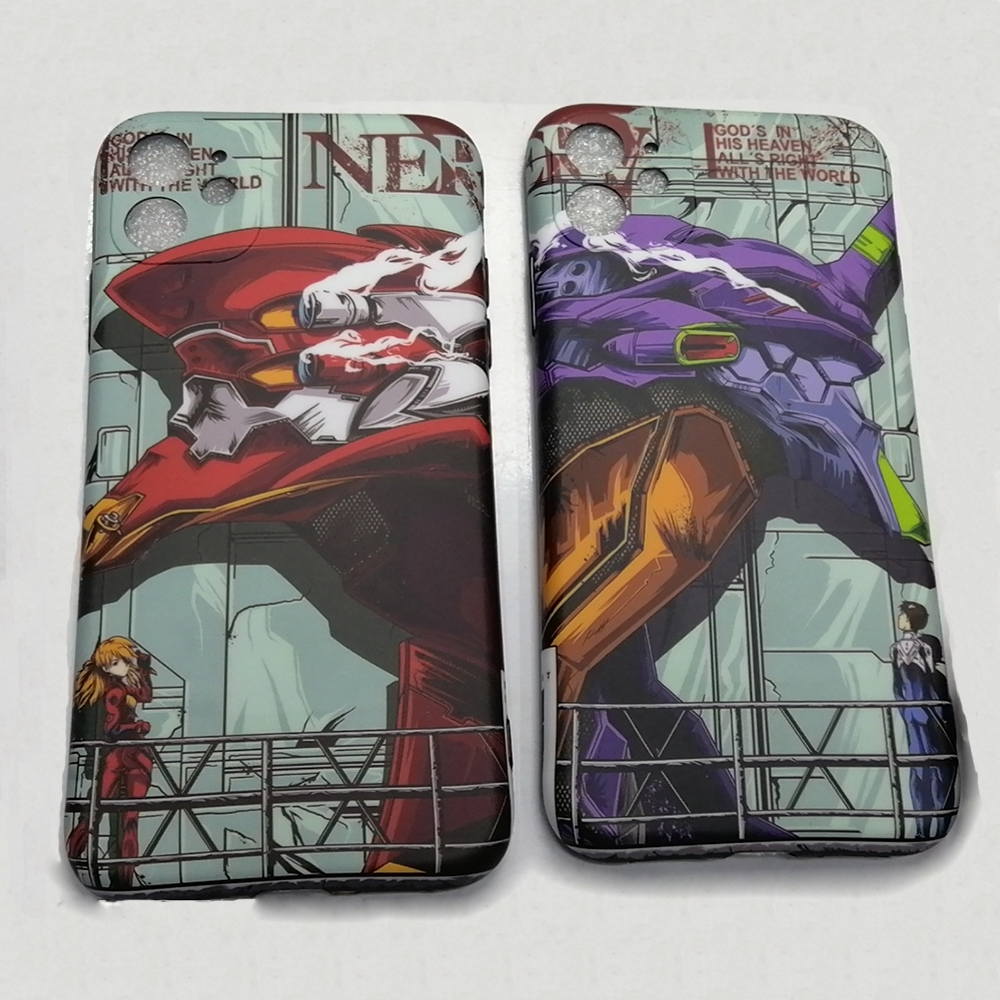 NEON GENESIS EVANGELION Case for iPhone 11 pro Max 7 8 plus X XS Max XR SE phone cases Japan Anime EVA Langley Shinji TPU cover