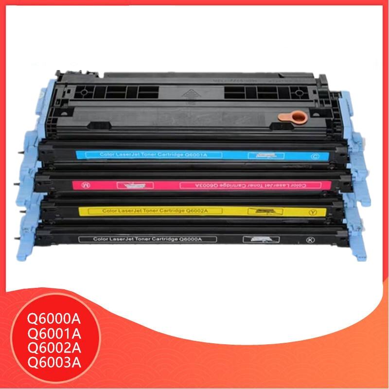 2 Pack Cyan Q6001A Toner For HP LaserJet 2605 Printer FREE SHIPPING!