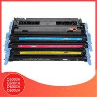 Compatible for HP Q6000A Q6001A Q6002A Q6003A toner cartridge q6000 6000a 124A Laserjet 1600 2600n 2605 2605dn 2605dtn CM1015|Toner Cartridges|   -