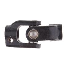Czarne zabrudzenia motocyklowe kierownica rowerowa pojedynczy układ kierowniczy u-joint tanie tanio perfeclan CN (pochodzenie) Iron