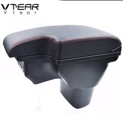 Vtear For Nissan Juke ESQ Accessories Armrest Interior Car Arm Rest Storage Box Center Console Car-Styling Accessories 2015 2018