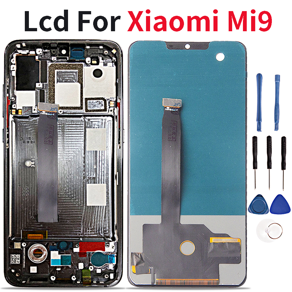 "6.39"" Lcd For Xiaomi Mi 9 Mi9 LCD Display Touch Screen Digitizer Assembly  For Xiaomi 9 lcd Replacement Part-in Mobile Phone LCD Screens from Cellphones & Telecommunications"