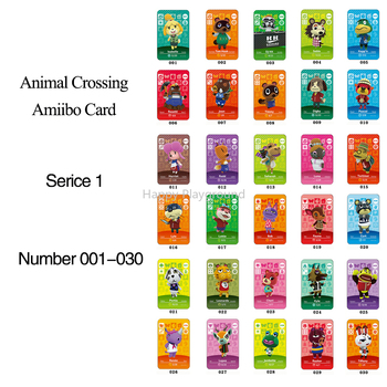 Animal Crossing Card Amiibo 001 to 030 NFC Card for nintendoing switch NS Games Animal Crossing Series 1 Christmas Gifts series 4 301 to 350 animal crossing card amiibo cards work for switch ns 3ds games card animal crossing amiibo card new leaf
