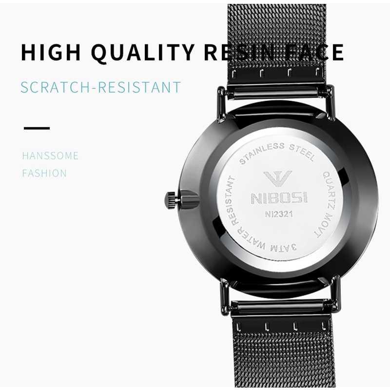 NIBOSI 2019 ファッション腕時計メンズ高級トップブランドのスチール製メンズ腕時計防水腕時計男性用時計クォーツ時計ゴールドスポーツカジュアル