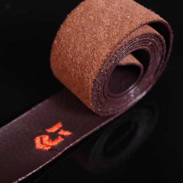 Breathable Leather Sweatband Tapes Fishing Rod Belt Badminton Racket Cover Wrap Tapes Non-slip Sweat Absorbing Belts 3