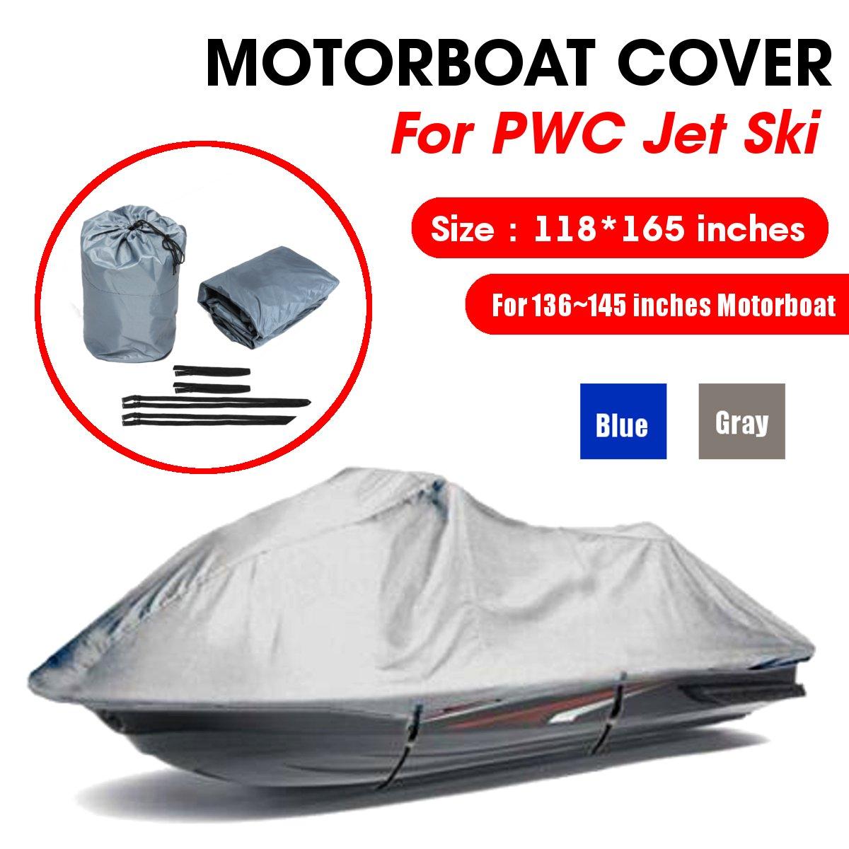 4.2x3m 210D Oxford tissu moteur protecteur étanche remorque bateau couverture jet ski hors-bord moteur capot couverture