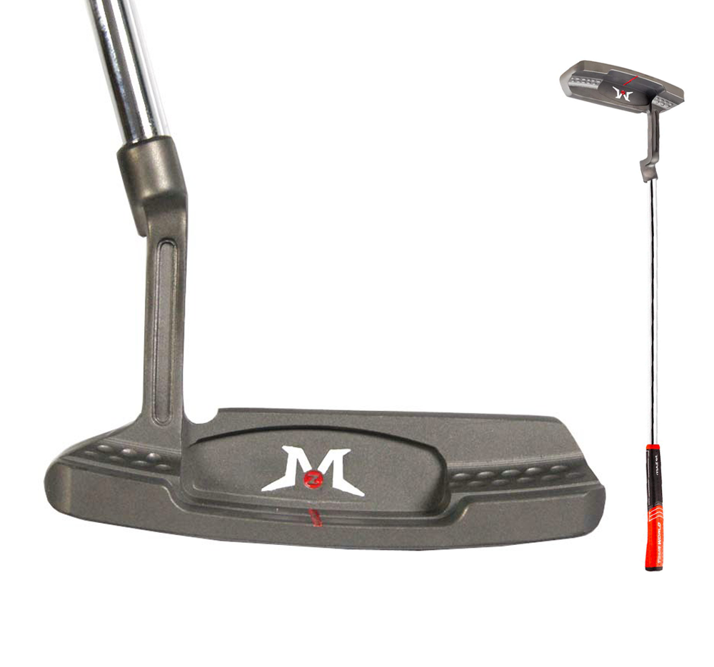 MAZEL Men's Golf Putter Tour GS Golf Clubs Stainless Steel Shaft Right Handed Suitable For Beginners Golf Equipment