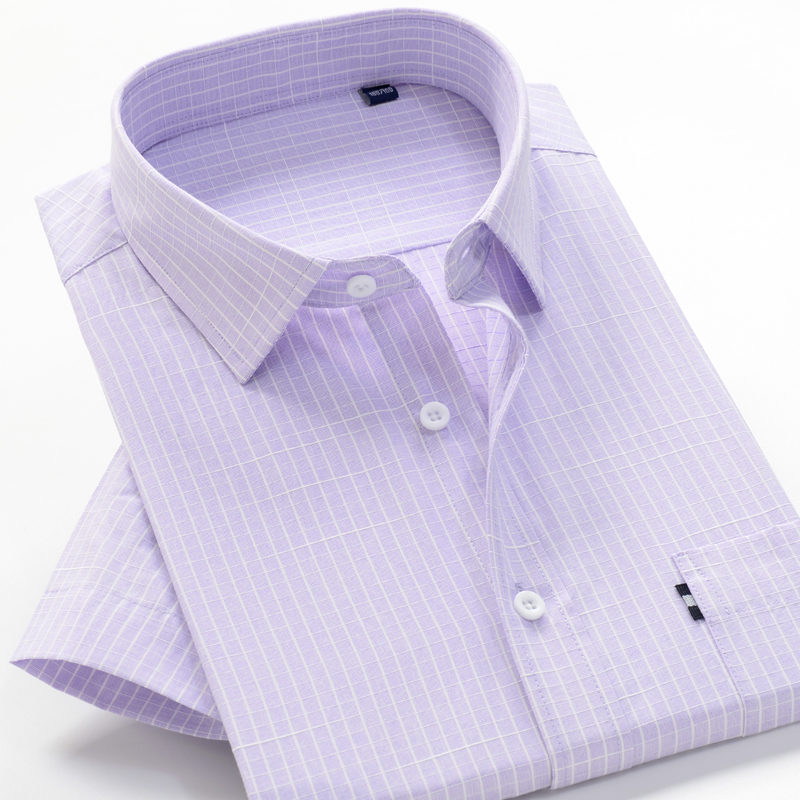 6XL 7XL 8XL 8XL 10XL big size summer striped shirt high quality comfortable cotton men's fashion casual loose short sleeve shirt 4