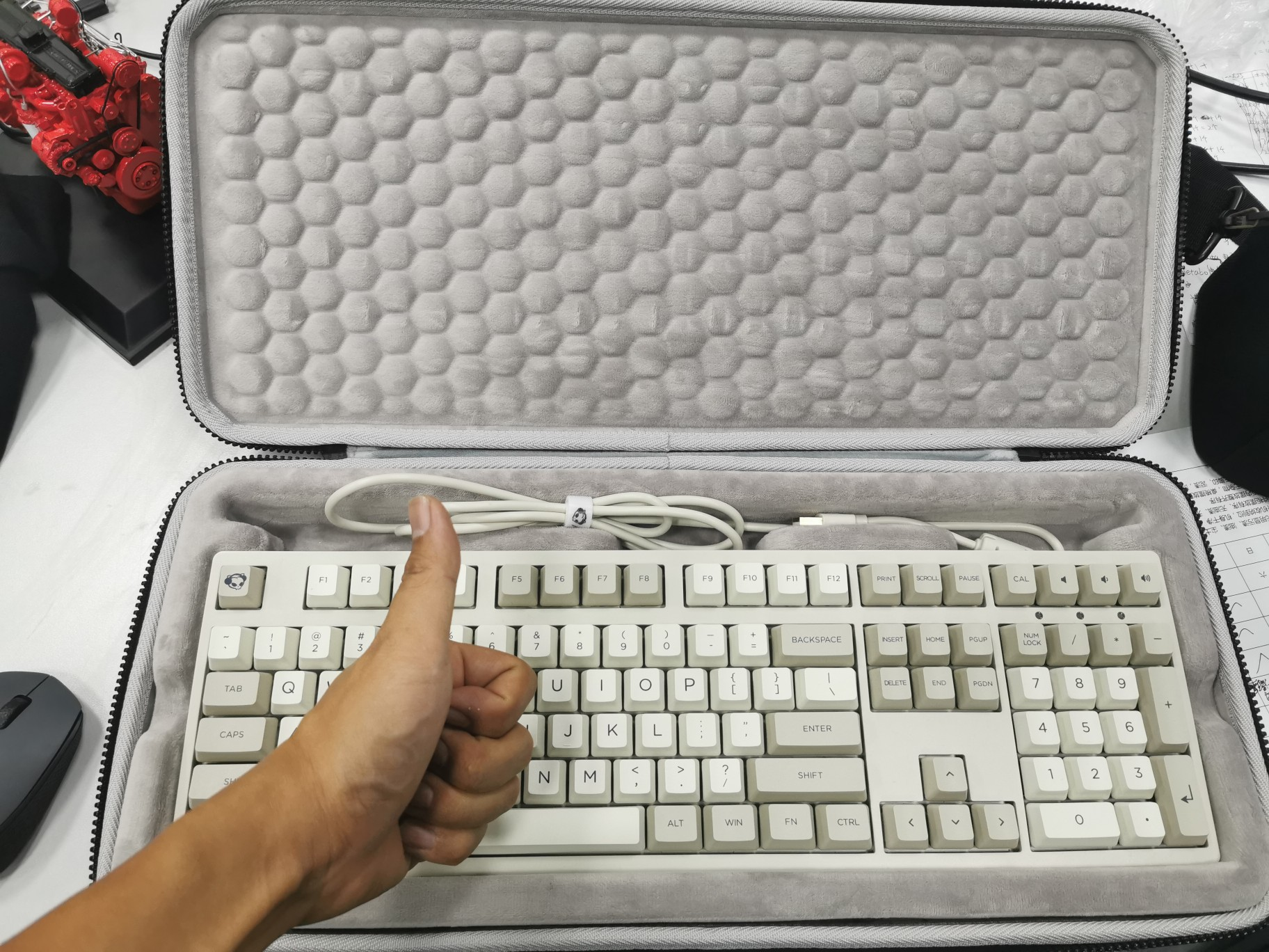 3108 3087 3084 3068 teclado mecânico caixa