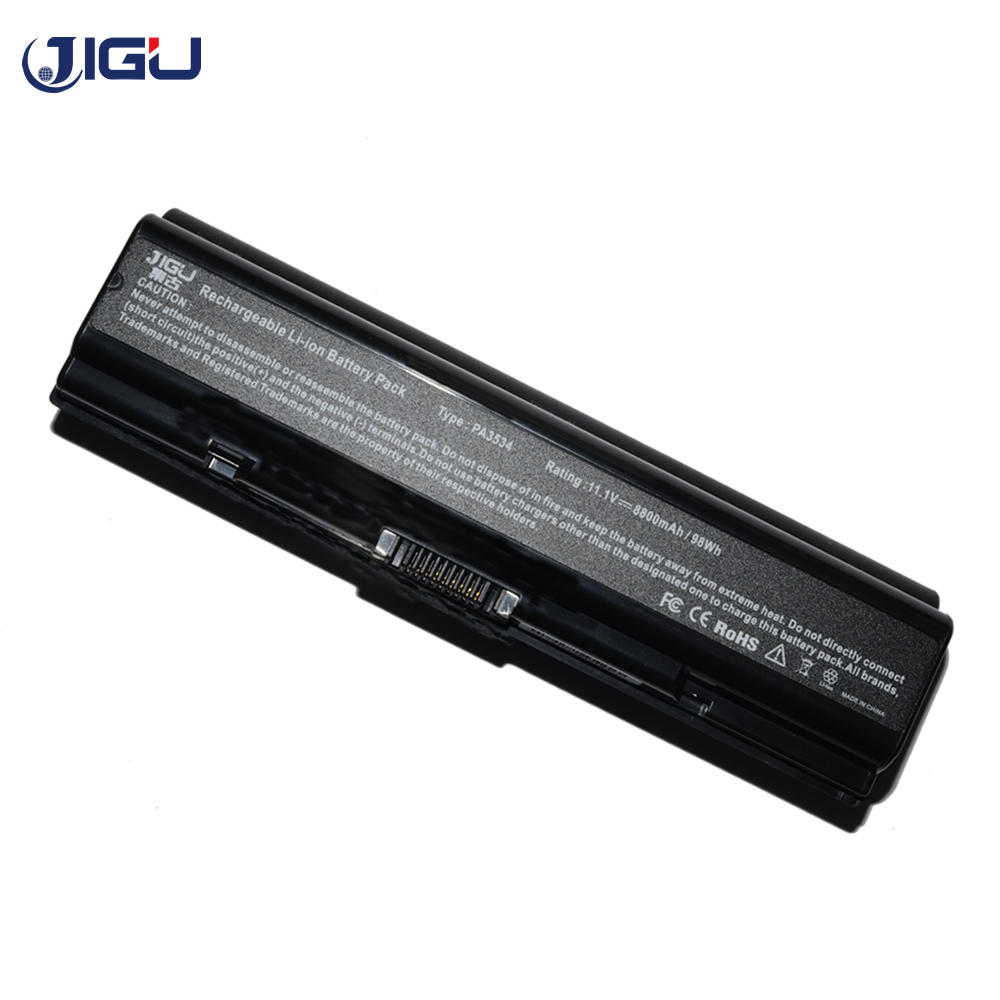 JIGU Laptop <font><b>Battery</b></font> For <font><b>Toshiba</b></font> <font><b>Satellite</b></font> A505D L200 L202 L205 L585 L201 L203 L581 L586 L300 L300D L305D <font><b>L350</b></font> L450 L455 L455D image