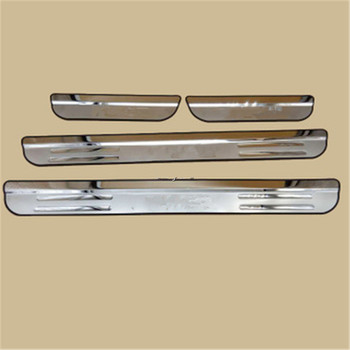 цена на 304 Stainless Door Sill Scuff Plate Cover For Honda Civic 10th 2006 -2020 Car Sticker Styling Trim Guard Protector Door Sill