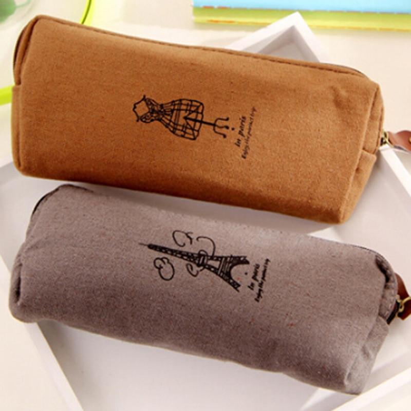 Korean Women Cosmetic Bag Travel Linen Makeup Bag Small Organizer Make Up Case Travel Portable Toiletry Beauty Storage Wash Bag