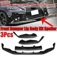 GS350 450 Carbon Fiber Look Car Front Bumper Lip Splitter Spoiler Diffuser For Lexus GS350 450 F Sport 4Dr Model 2013 2014 2015