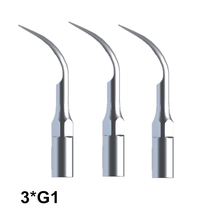 Oral Hygiene 3 Pcs G1 Dental Scaler Tips Fit EMS Woodpecker Ultrasonic Scaler Handpiece Dental Ultrasonic Scaler Scaling Tip deasin 2018 original woodpecker dental led light ultrasonic piezo scaler handpiece fit for dte satelec scaling tips hd 7l