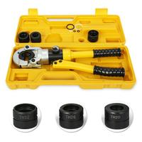 US EU 12 Ton 16 32 mm Hydraulic Pex Pipe Aluminum plastic pipe Tube Crimping Tool Plumbing Tools w/ TH Dies 16, 20, 26, 32
