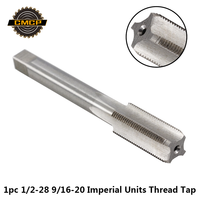 1pc 1/2 28 UNEF 9/16 20 HSS Machine Hand Tap For Metal Working Imperial Units Thread Tap Screw Tap Drill Bit Hand Tap|Tap & Die| |  -