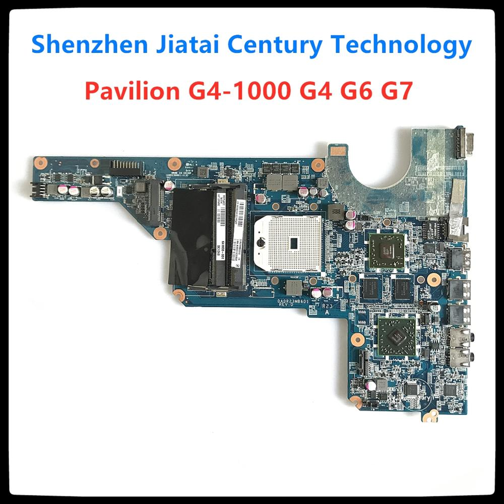 649949-001 649950-001 scheda principale per HP Pavilion G4-1000 G4 G6 G7 scheda madre per laptop presa FS1 HD6470M completamente testata