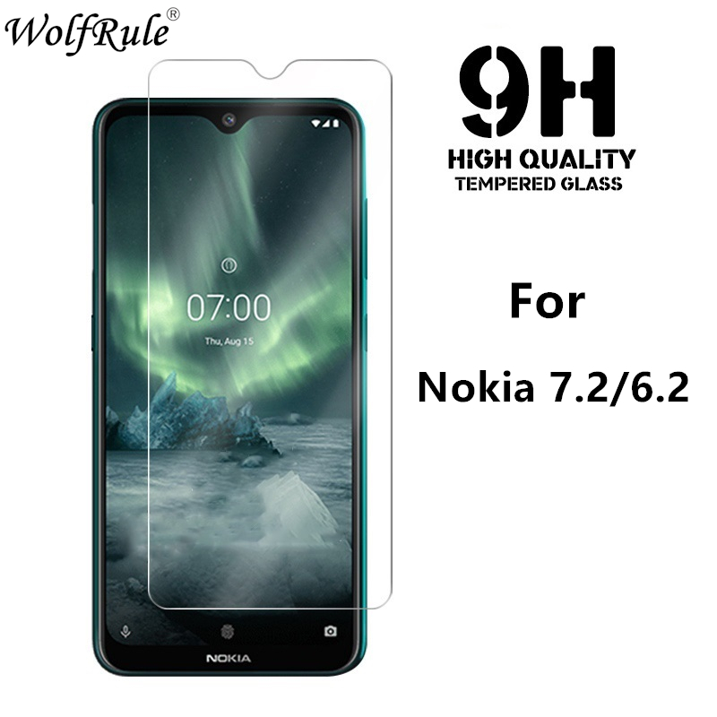 2PCS <font><b>Screen</b></font> <font><b>Protector</b></font> For <font><b>Nokia</b></font> <font><b>7.2</b></font> Glass 9H Hardness Tempered Glass For <font><b>Nokia</b></font> <font><b>7.2</b></font> Phone Glass For <font><b>Nokia</b></font> 6.2 2.3 Protective Film image