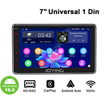 7/8/9/10inch 1Din Android Car Radio GPS Navi Carplay Android auto DSP SPDIF Subwoofer WiFi 4G SIM Card DAB DVR Bluetooth 5.1 DAB