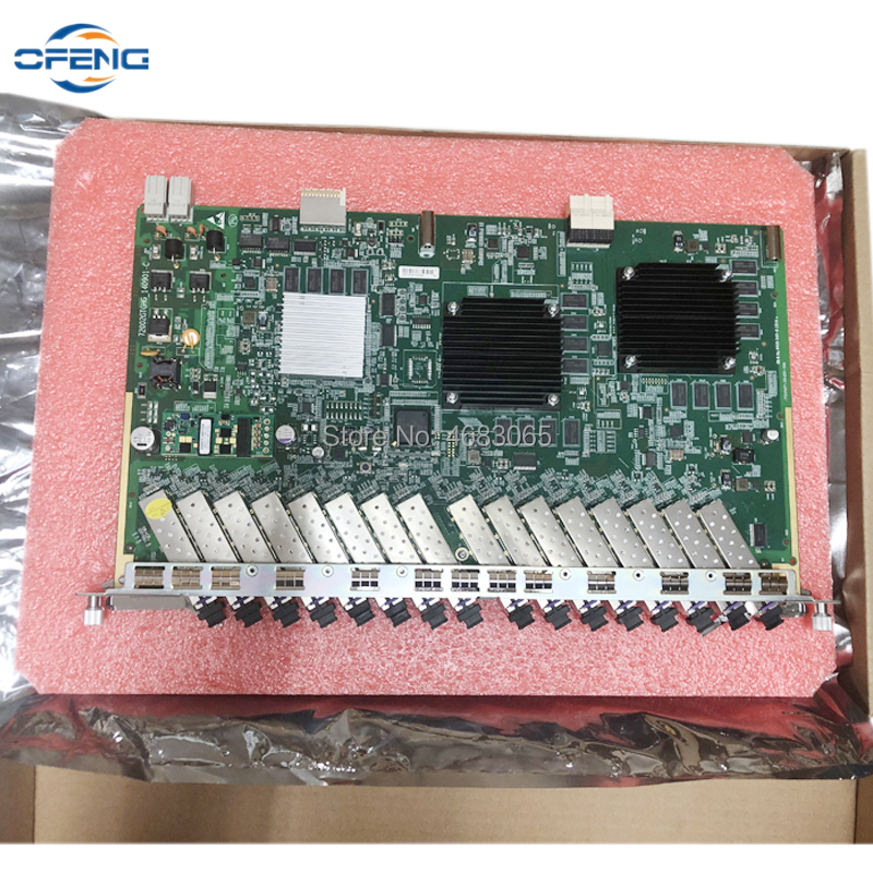 ZTE GTGH GTGHG GTGHK Service Board 16 Port With 16Pcs SFP Modules B+ C+ C++ Use For ZTE OLT C320 C300