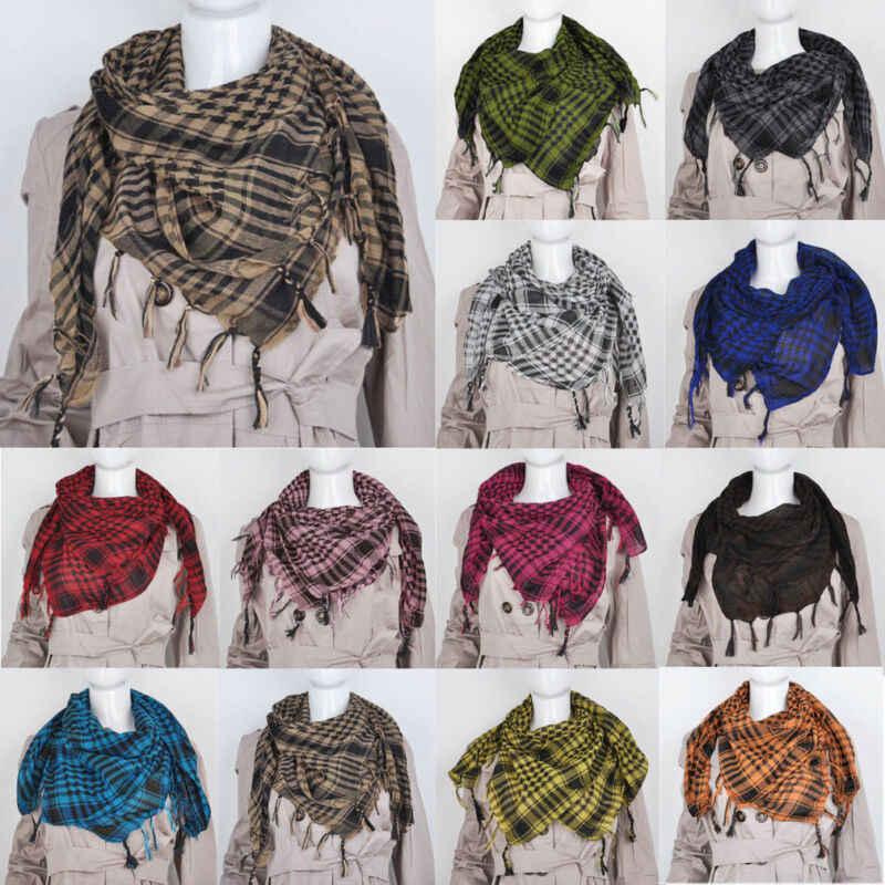 2019 I Più Nuovi Alla Moda di Lusso Morbido Cashmere Sciarpa del Triangolo delle Donne di Modo del Plaid Coperta Scialle di Pashmina Caldo in Inverno Ordito Sciarpe