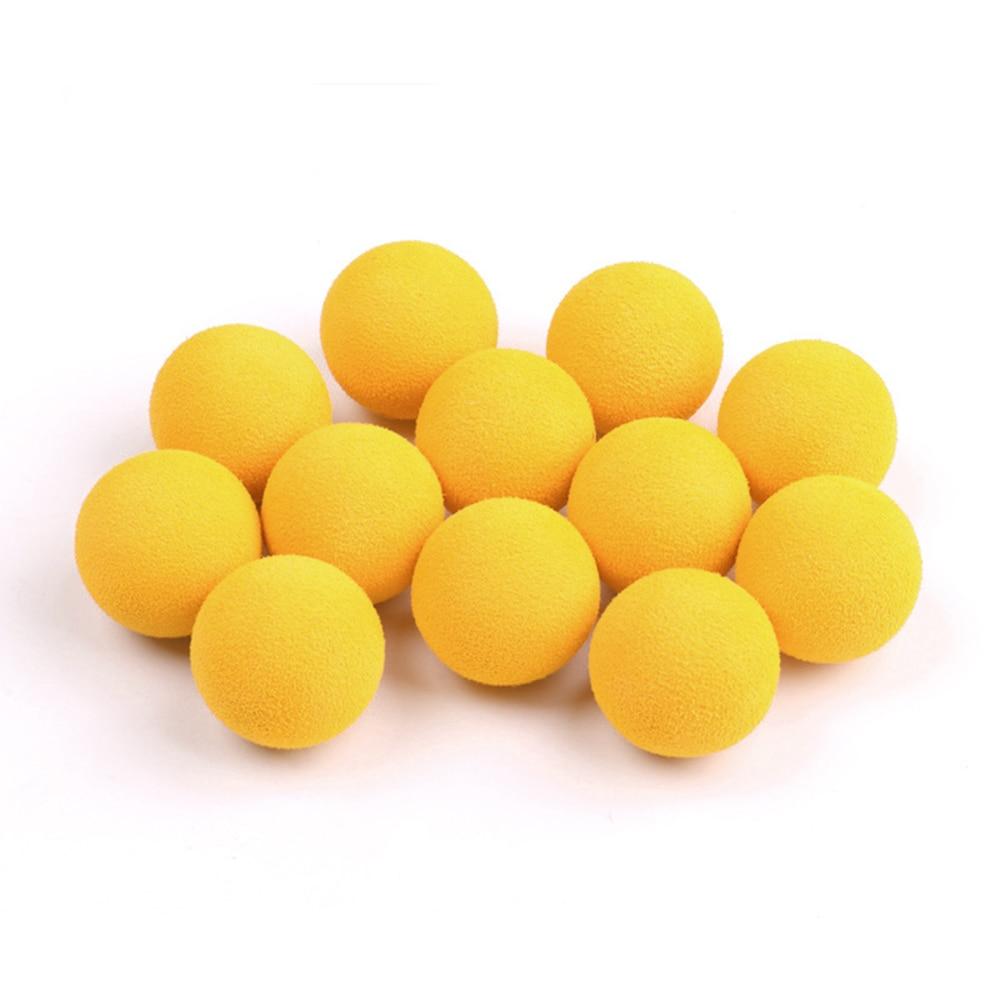 20pcs 2.8cm Boys Fight Toy Guns And Plants Vs Zombie Pneumatic Soft Bullet Color EVA Ball Children's Birthday Gift